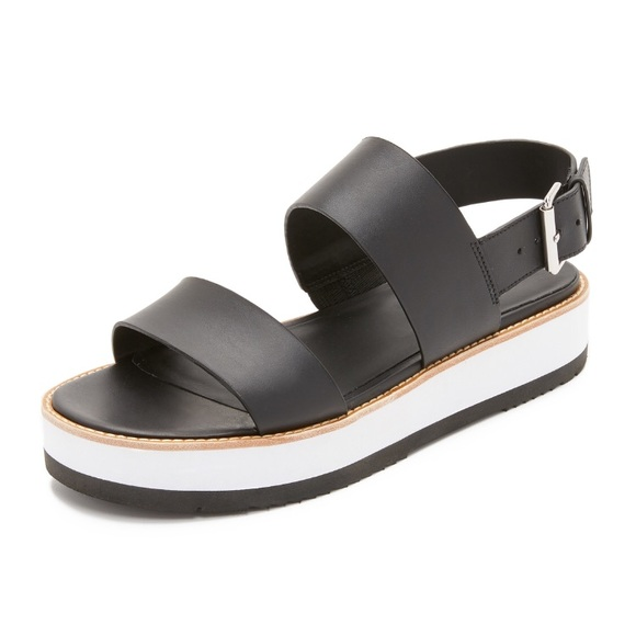 e9388ca9f9e ... Vince Mana Leather Platform Sandals. M 5b4f88db12cd4a2278e7527a